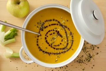 Rezept Kürbissuppe mit Fenchel