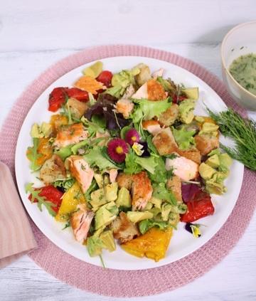 Rezept Lachs-Avocado-Salat