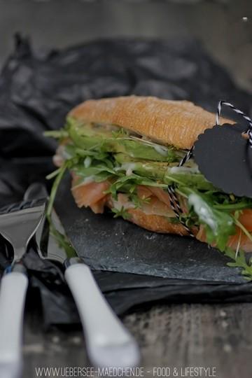 Rezept Lachs-Avocado-Sandwich