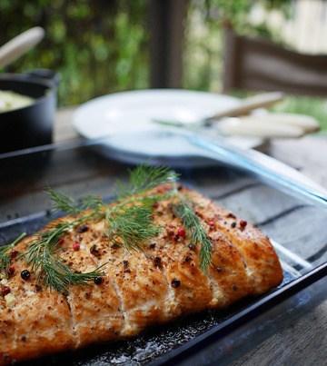 Rezept Lachsfilet aus dem Ofen