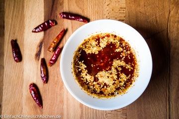 Rezept 辣椒油(làjiāo yóu) – Chinesisches Chiliöl selbst machen