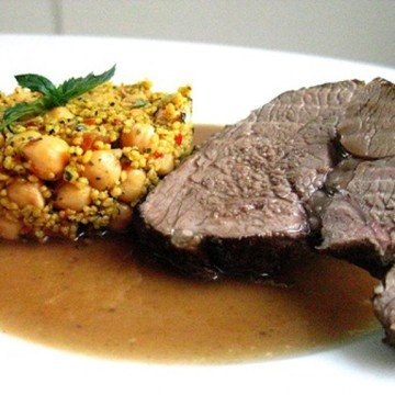 Rezept Lammkeule - orientalisch inspiriert