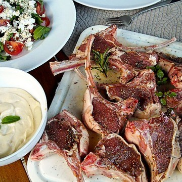 Rezept Lammkotelett vom Grill