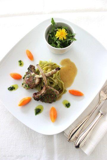 Rezept Lammkoteletts im Kräutermantel