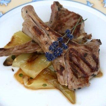 Rezept Lammkoteletts mit Lavendel