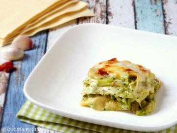 Rezept Lasagne con broccoli e funghi porcini