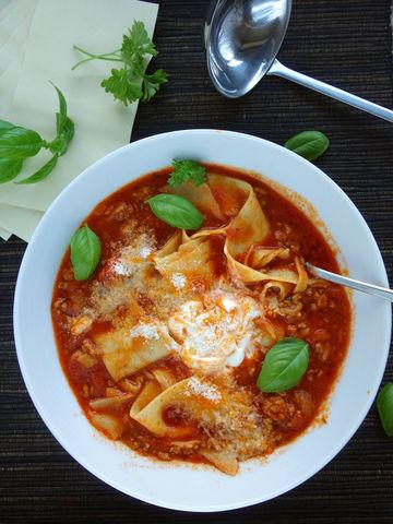 Rezept Lasagne-Suppe – die einfache und schnelle Lasagne