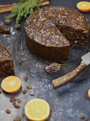 Rezept LAST MINUTE CHRISTMAS CAKE