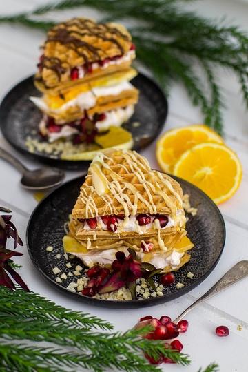 Rezept Last Minute Lebkuchen Waffel Sandwiches