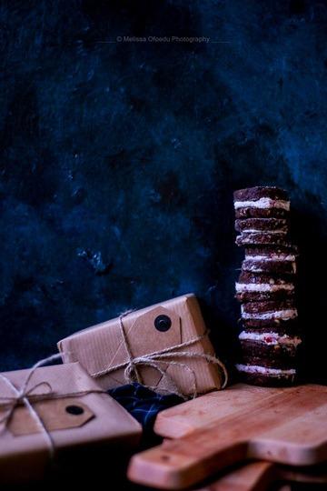 Rezept Last Minute rohvegane Muskat & Cranberry Cookies