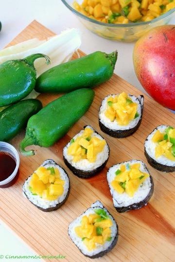 Rezept Latin Fusion Sushi Rolle