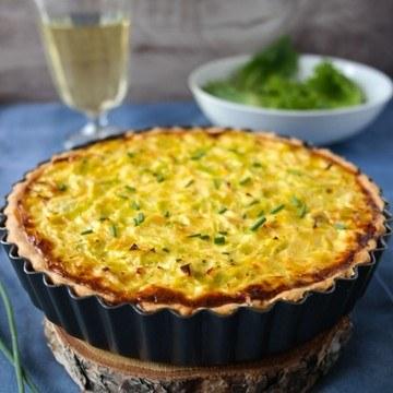 Rezept Lauch-Käse-Quiche