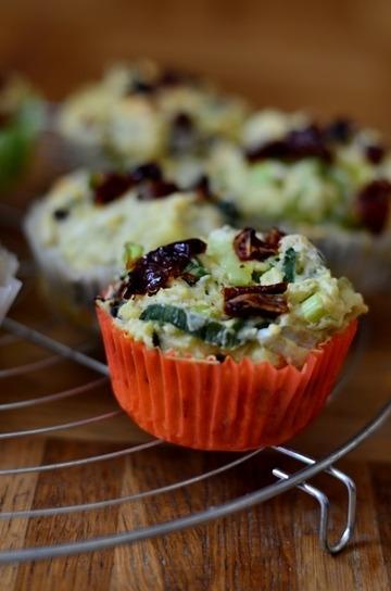 Rezept Lauch-Tomaten-Muffins