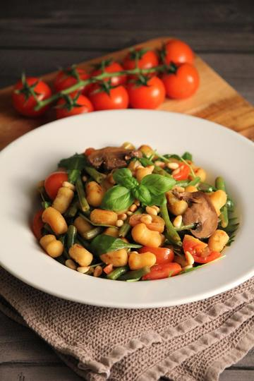 Rezept Lauwarmer Gnocchi-Salat
