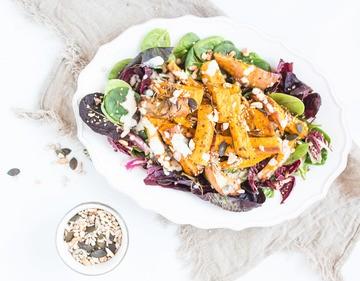 Rezept Lauwarmer Kürbis-Salat
