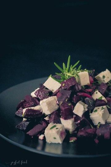 Rezept Lauwarmer Rote Bete Salat mit Feta Salat