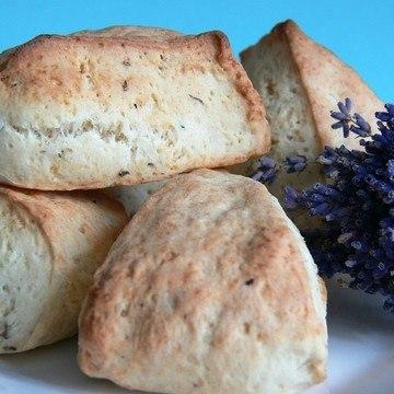 Rezept Lavendel-Buttermilch-Scones