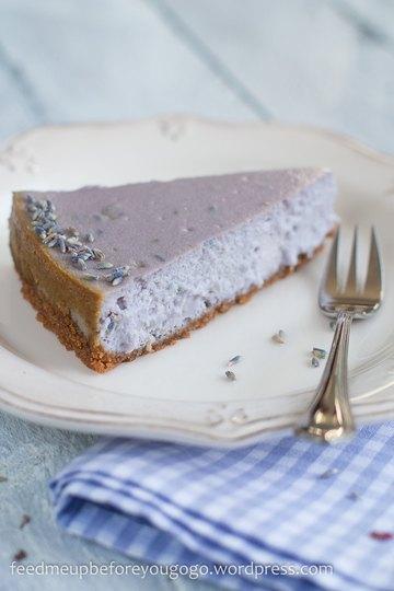 Rezept Lavendel-Cheesecake mit weißer Schokolade