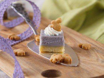 Rezept Lavendel-Cheesecake-Würfel