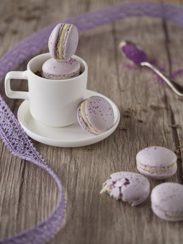 Rezept Lavendel-Macarons
