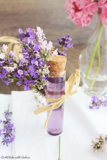 Rezept Lavendelsirup und -limo selber machen