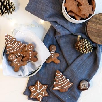 Rezept Lebkuchen Plätzchen/ Gingerbread