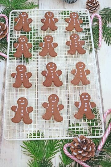 Rezept Lebkuchenmänner oder Gingerbread Men Rezept