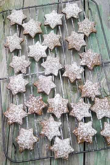 Rezept Lebkuchensterne zu Weihnachten