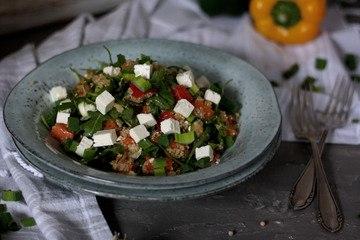 Rezept Leichter Quinoa-Süsskartoffel-Salat