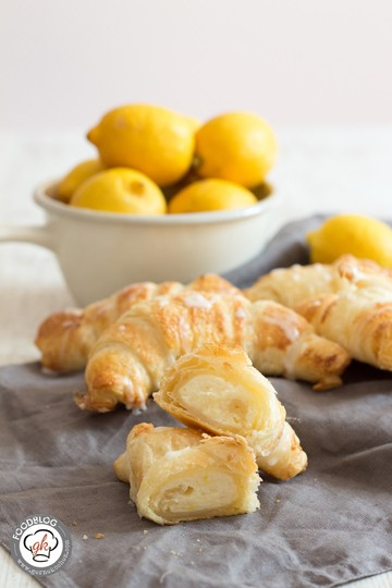 Rezept Lemon Cheesecake Croissants