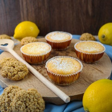 Rezept Lemon-Cheesecake-Muffins