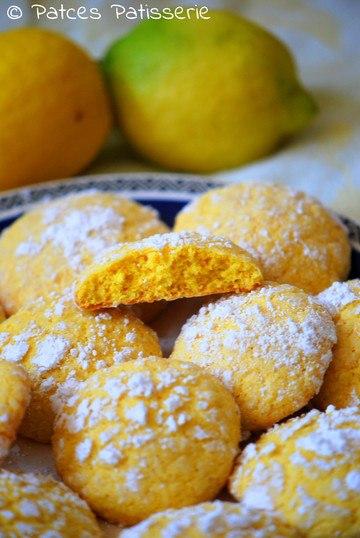 Rezept Lemon Crinkle Cookies