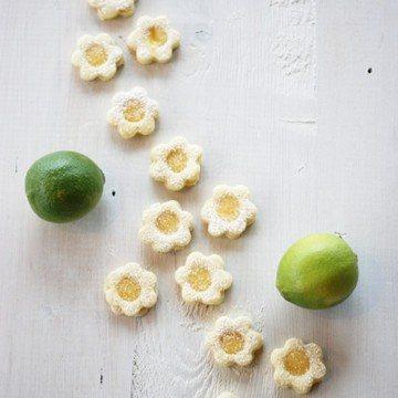 Rezept Lemon Curd Blümchen
