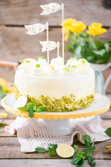 Rezept Lemon Curd Wickeltorte