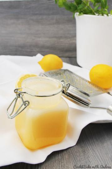 Rezept Lemon Curd – Zitronencreme