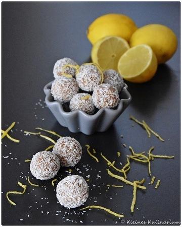 Rezept Lemon Energyballs