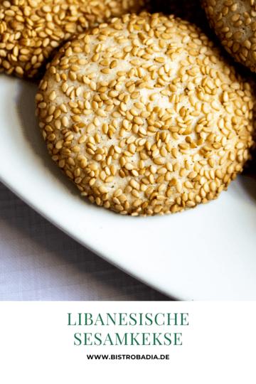 Rezept Libanesische Sesamkekse
