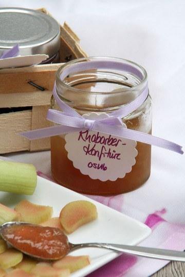 Rezept Lieblings-Marmelade: Rhabarber-Konfitüre