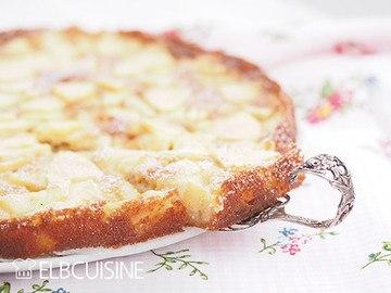 Rezept Lieblingsapfelkuchen – süßer Pfannkuchenteig mit karamellisierten Äpfeln