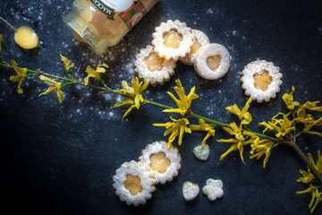 Rezept Lime Curd Cookies mit Mohn