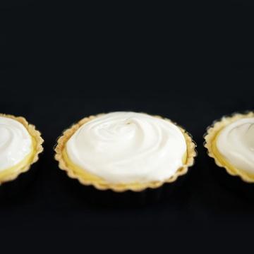 Rezept Limetten-Kokos-Tartelettes mit Baiser
