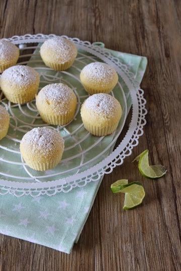 Rezept Limetten Muffins