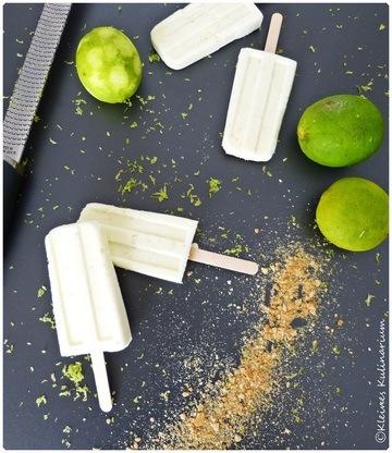 Rezept Limetten Popsicle