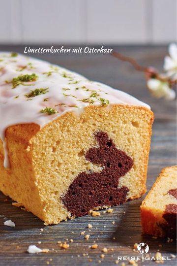 Rezept Limettenkuchen mit Osterhase