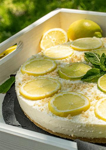 Rezept Limoncello-Cheesecake (no bake)