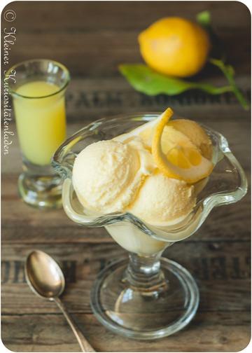 Rezept Limoncello-Eis