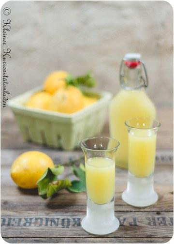 Rezept Limoncello, italienischer Zitronenlikör