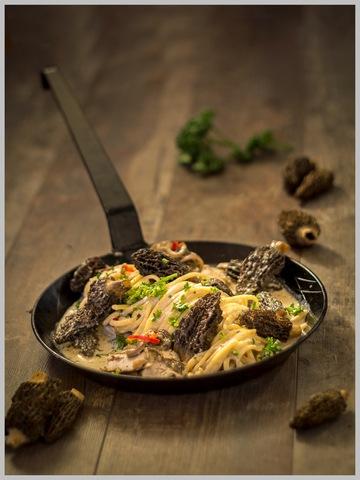 Rezept Linguine an Morchelsoße