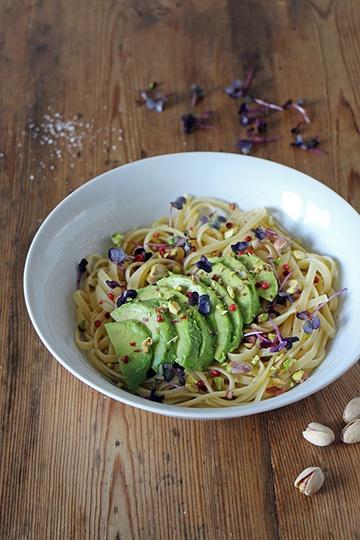 Rezept Linguine mit Avocado