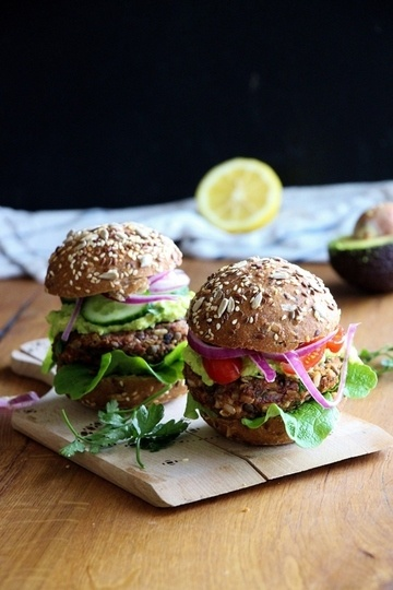 Rezept Linsen - Burger mit selbstgemachter Barbecuesauce